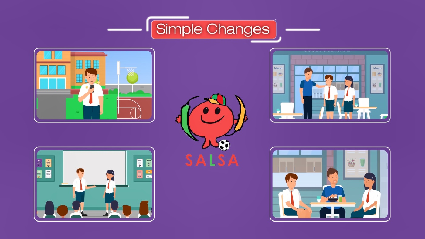 SALSA Simple Changes Video