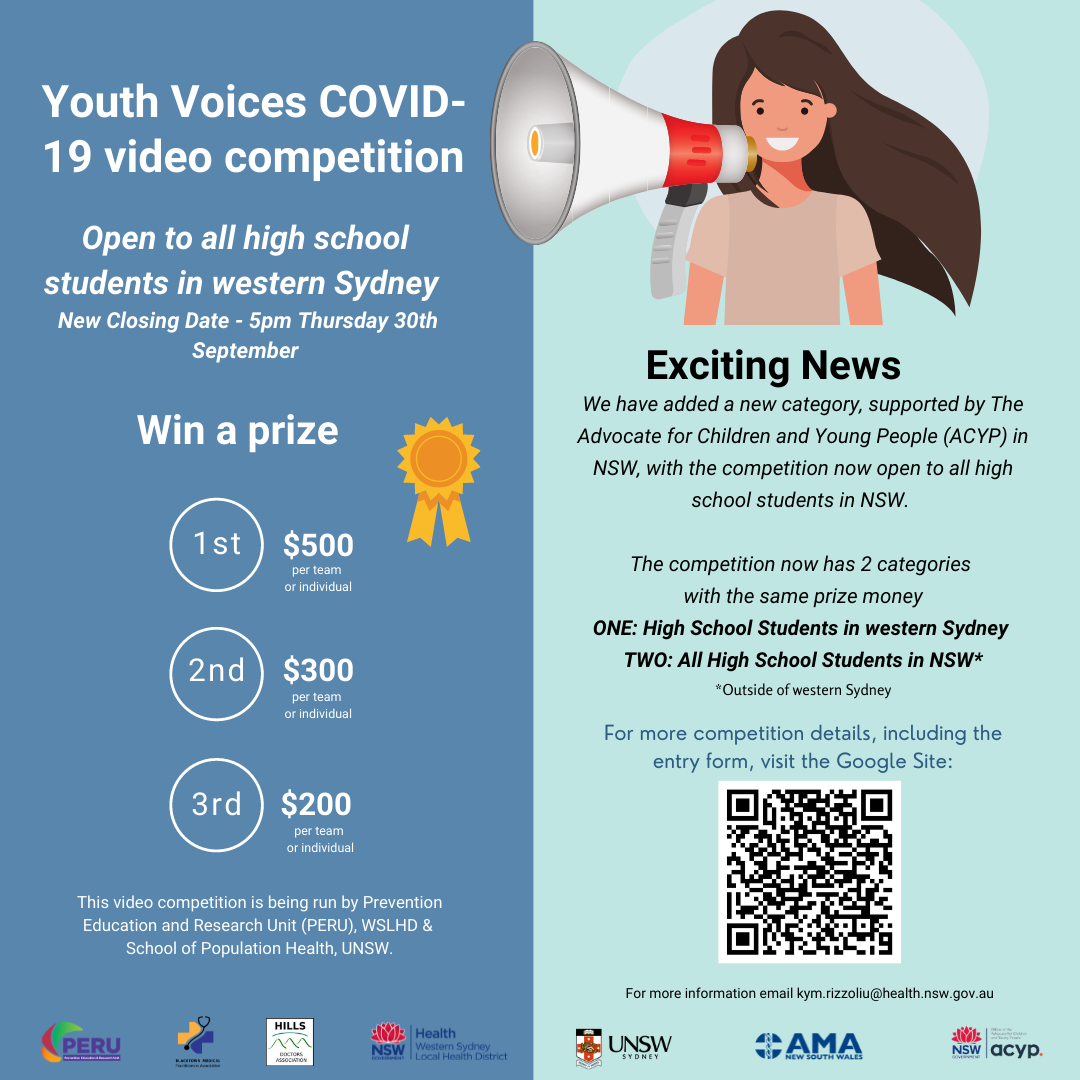 Youth Voices COVID-19 video competition